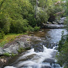 Chattooga River with cascades