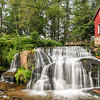 Mill Shoals Falls, Highway NC215