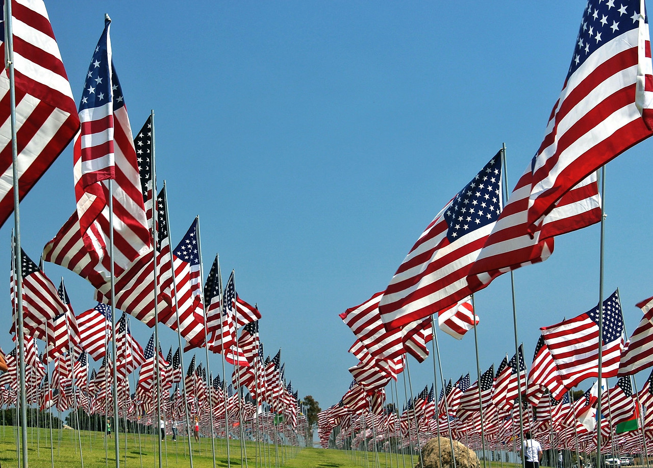 A flag for every life lost... 9/11 Memorial