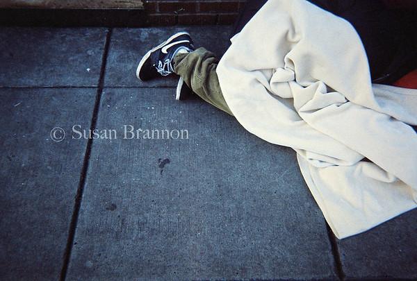 Sleeping on the Street