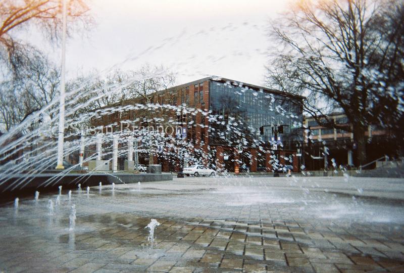 Water Fountain, Downtown Portland