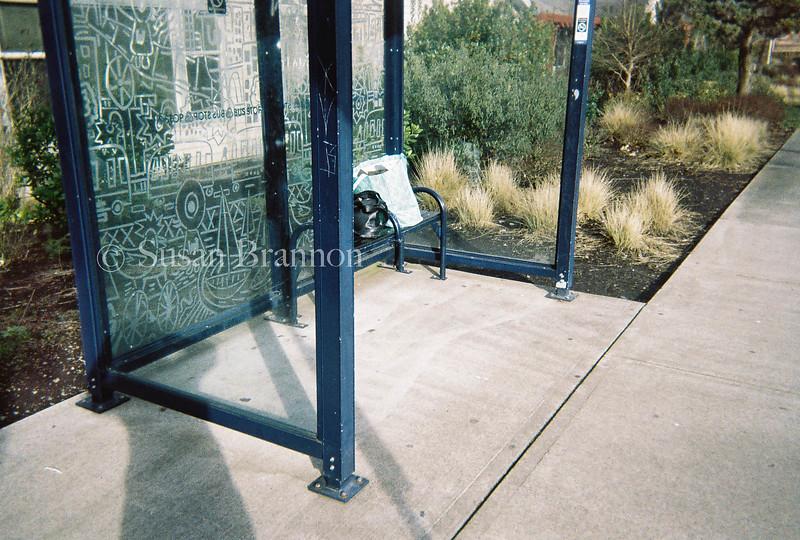 Bus Stop Portland, Oregon