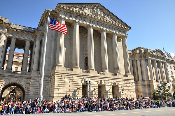 Cherry Blossom Parade on Constitution Avenue