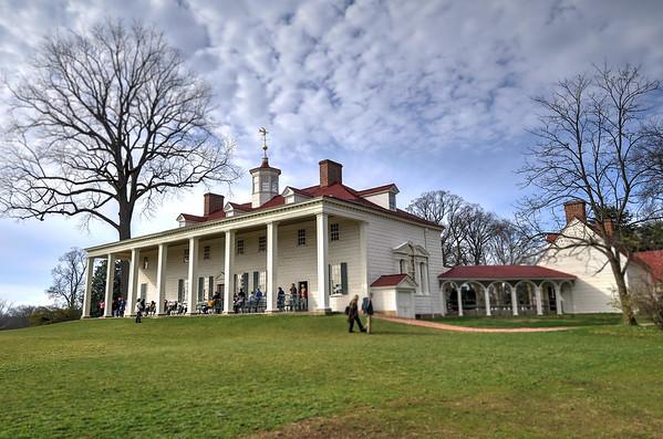 Mount Vernon in December