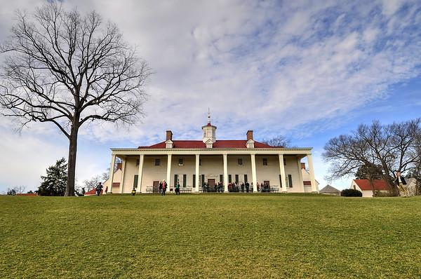 Mount Vernon on the Potomac