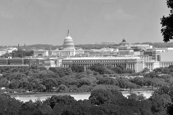 Washington DC from Across the Potomac