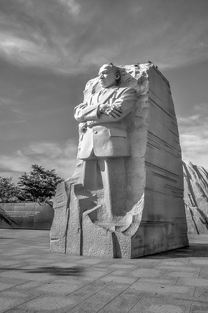 Martin Luther King Stands Tall on the National Mall