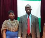 Accra Ghana, Africa - Charles & Edna Brobbey