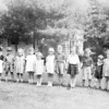 Kindergarten class at home of George B. Wells, Southbridge MA. Jim Lacey III is 4th from left. Several of the children are from the Wells' families of Soutnbridge.
