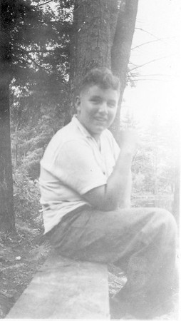 Informal photo of James T. Lacey III - Probably late 1940s