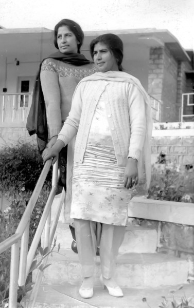 Razia and Noor Jehan in Tanda Dam Rest house near Kohat.