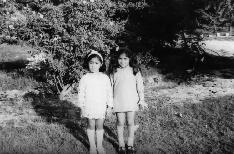 Ayusha and Abira in Sialkot