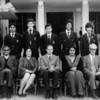 Front (Lto Right) Mr. M. Rafi, Mr. A. H. Qureshi, Miss M. A. Flanagan, Bro. M. J. Connell, Mrs. P. Daud, Bro. Bernard Ruez, Ahsan Iqbal (Headboy). Back (Lto R) Kamran Syed, Omar Liaquat, Tariq Alexander Qaiser, Robert Lee, Kamal Nasir, Aasim Yusuf, Saleem A. Naqvi.  Missing - Awais Kamal, Ijaz Haider Abidi, Khaliq-ur-Rahman, Saad A. Zia, Sohail Amin, Bilal Hasan