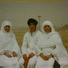 Umra in 1980.  Mummy, Saadia and Ahsan