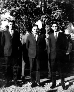 June 1966.  II War Course Baluchis -  Zaffar Meyer in center with Akram and Najam