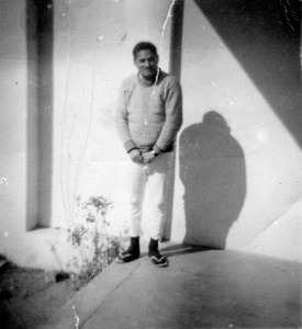 Daddy in Quetta during Staff College.