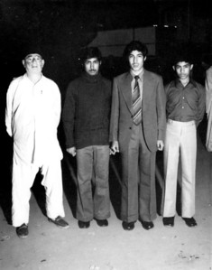 Abaji, Asjad, Amer and Ahsan on Amer's departure to Ankara, Turkey