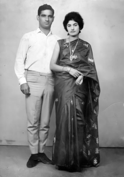 Saeed Kamal and Saeeda Seema