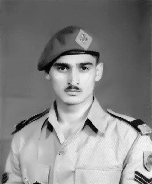 Zaffar Iqbal Meyer at Pakistan Military Academy