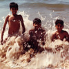 Jamal, Sheryar and Rashid in Karachi.