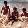 Jamal, Sheryar and Rashid in Karachi.