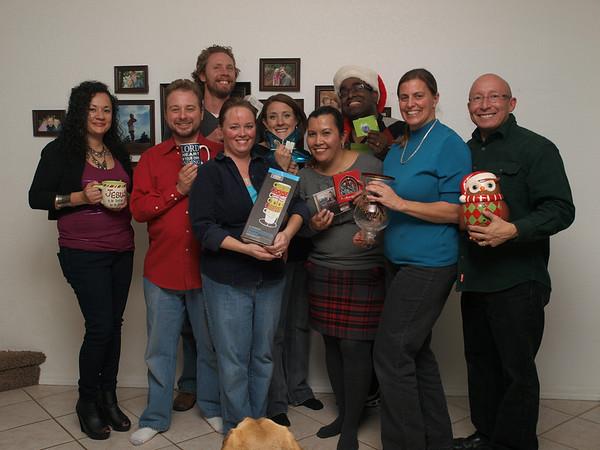 Home Group Christmas Party at Jason & Christina's