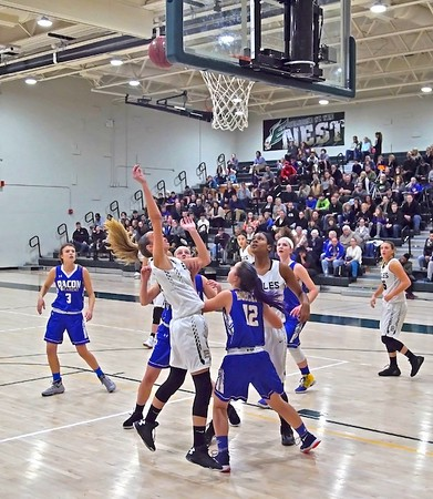 Girls Basketball vs. Bacon Academy 12-30-16