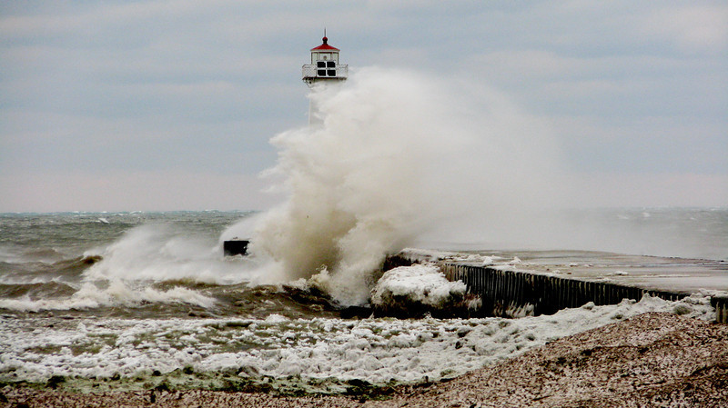 Lake Ontario's fury #4, Sodus Point NY.