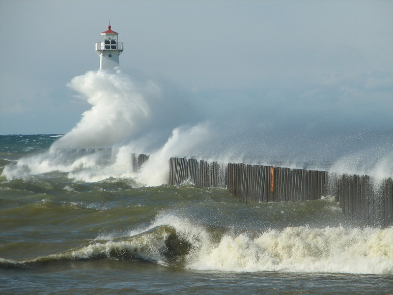 Lake Ontario's fury #1, Sodus Point NY.