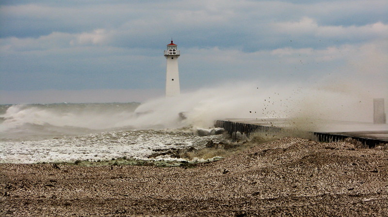 Lake Ontario's fury #3, Sodus Point NY.