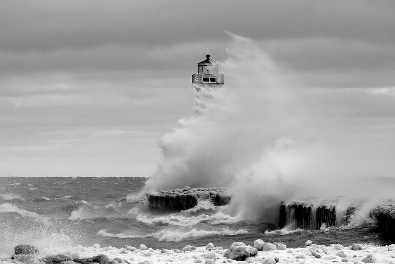 Sodus Point lighthouse storm 021317 2 _DSC2729