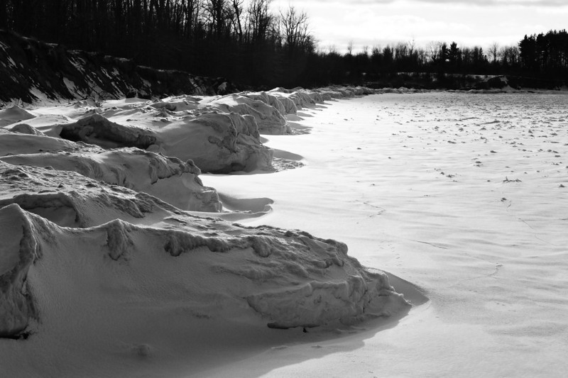 Chimney Bluffs 022110 15 bw DSC_1695