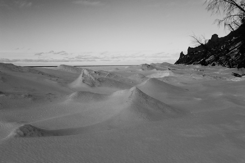 Chimney Bluffs 022110 22 bw DSC_1716
