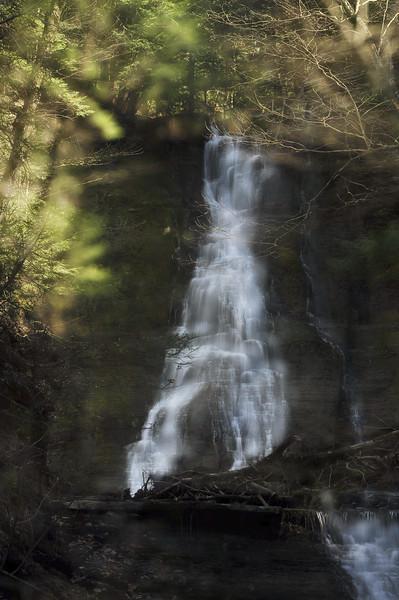 Waterfalls in Conklin Gully #2