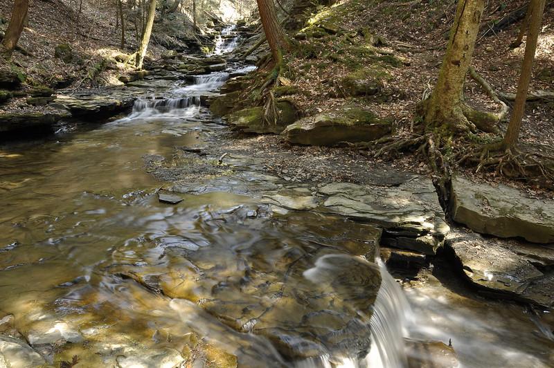 Waterfalls in Conklin Gully #3