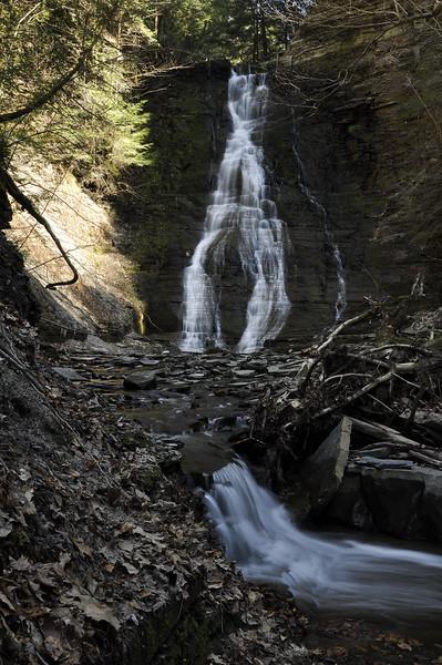 Waterfalls in Conklin Gully #17