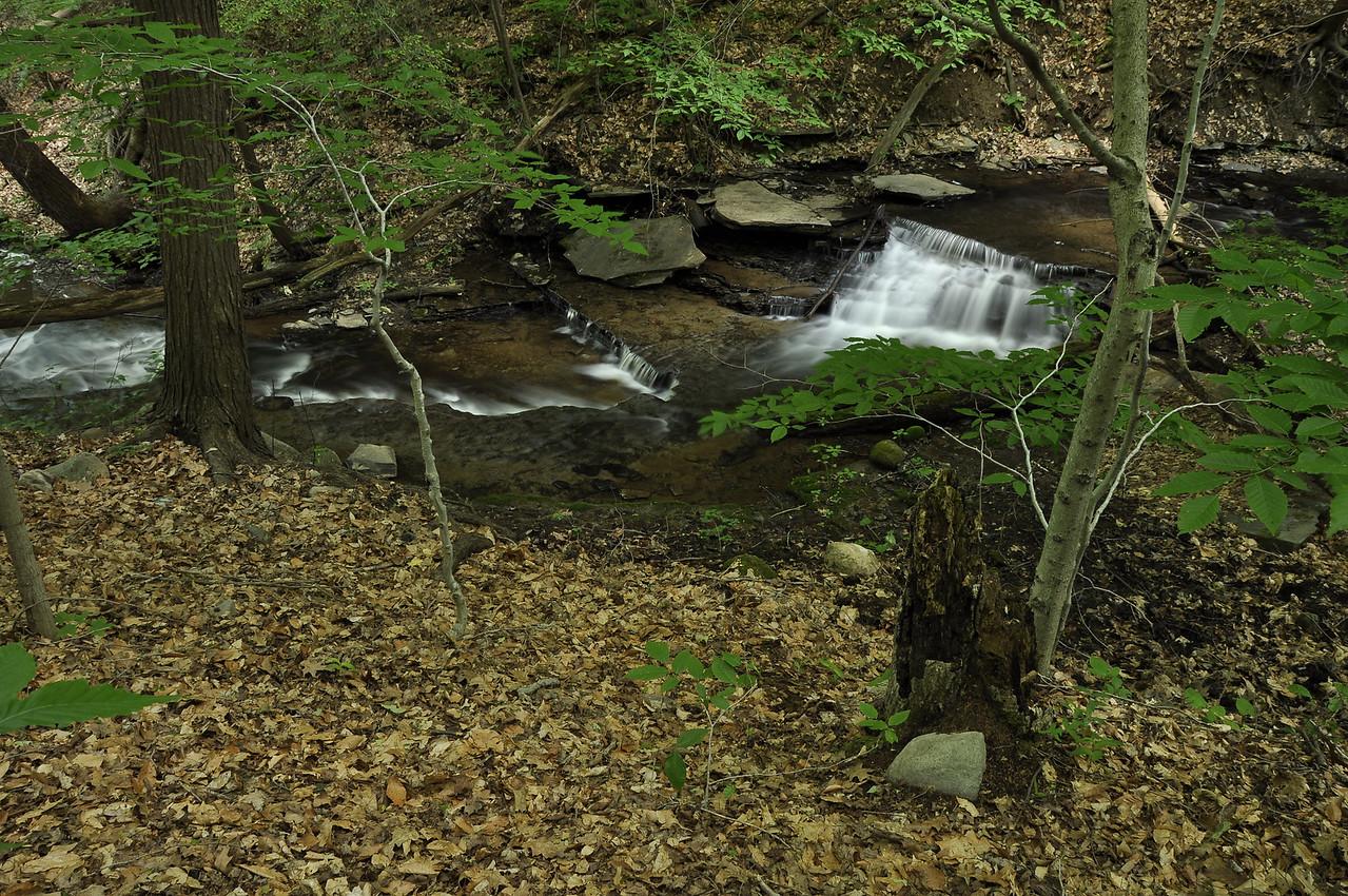 Grimes Glen 061509 32-cascade in first falls stream_DSC8801