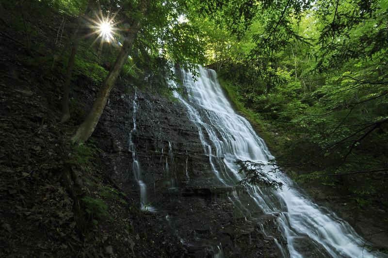 Cariad Falls, Grimes Glen