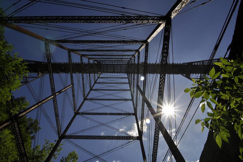 Letchworth 062209 33-bridge from underneath_DSC9134
