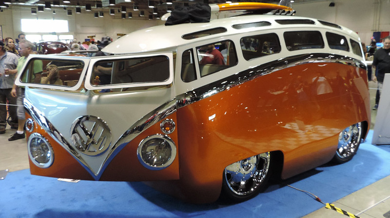VW Bus, Surf Seeker | Ron Berry