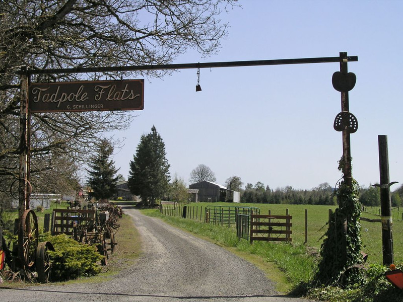 Washington state, the ranch that started it all. Best all time name for a ranch!