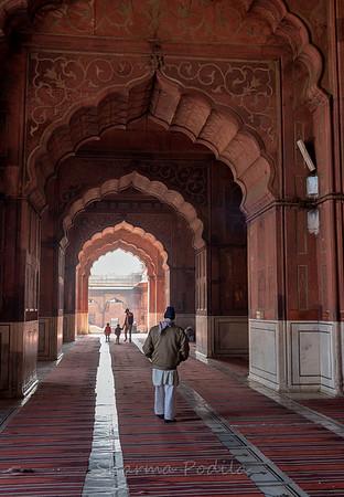 Shahi Jama Masjid, New Delhi, India