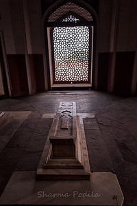 Humayun's Tomb, New Delhi, India.