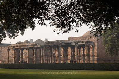Ruins at the Qutb Minar, New Delhi, India