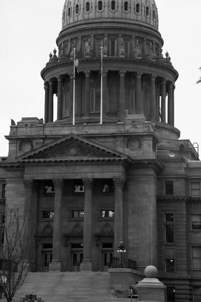 The Idaho State Capitol. Boise, Idaho. August 10th, 2019.