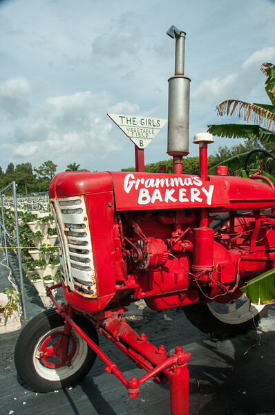 Gramma's Tractor