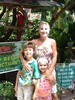 Meeting Lucy the Green-wing Macaw at The Girls Strawberry Patch