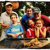 John Allen with Family