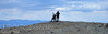 Nevada hilltop view.