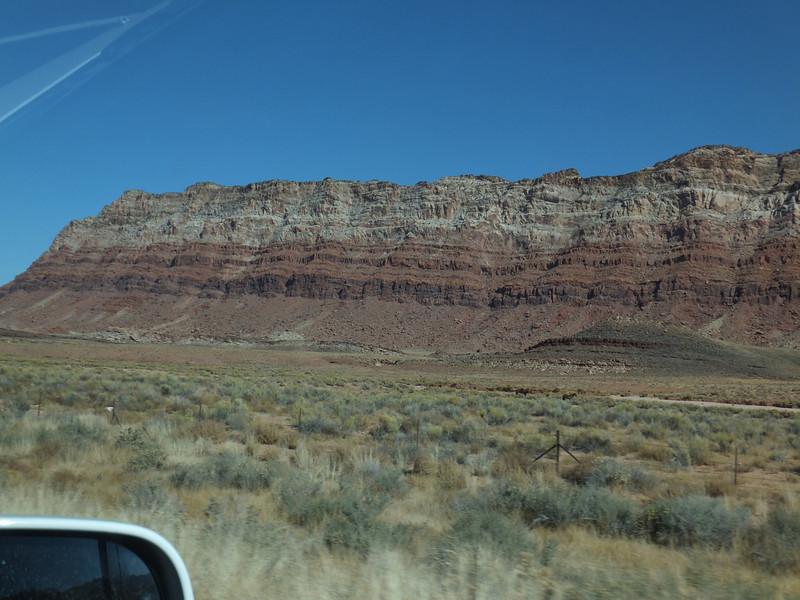This is some of the topography on the way up to Page, AZ.  Plenty of it there and I took mucho pictures of it (luckily, only a few are here).